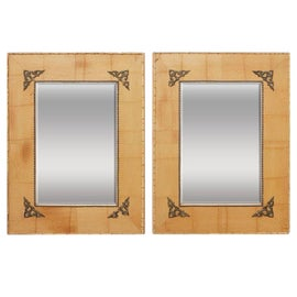 Image of Entry Mantel and Fireplace Mirrors