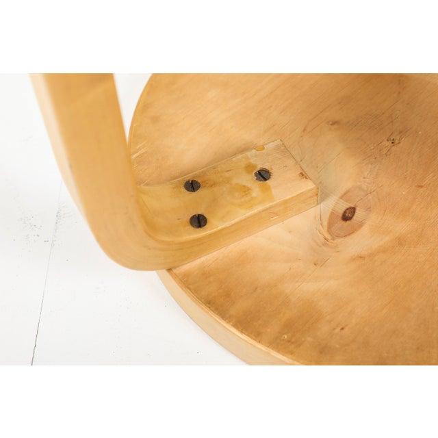 1970s Vintage Alvar Aalto Artek 60 Stool For Sale - Image 9 of 11