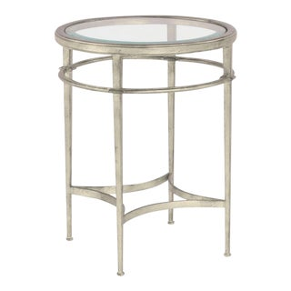 Modern Madeline Round Side Table For Sale