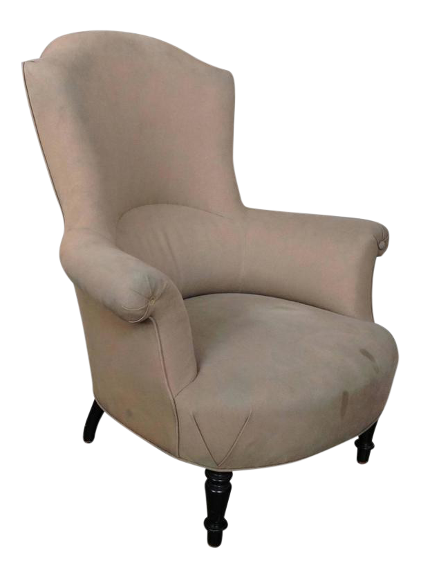 Genial High Back French Armchair   Image 1 Of 11