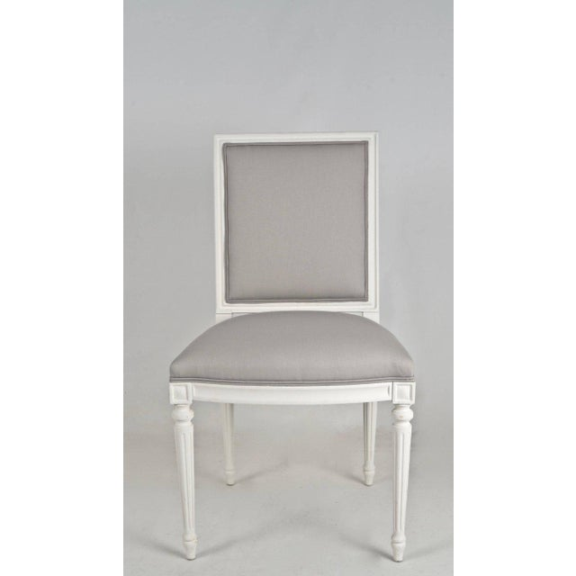Louis XVI-Style Dining Chairs - Set of 8 - Image 6 of 8
