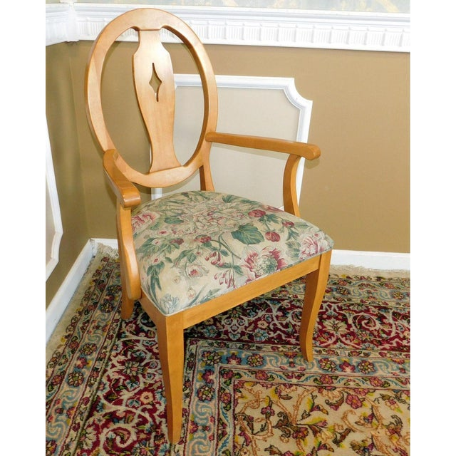 Ethan Allen Country Colors Wheat Dining Set - Image 10 of 11