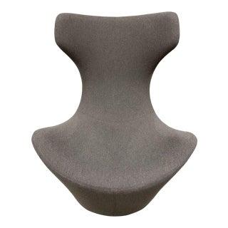 Naoto Fukasawa for B & B Italia Grande Papilio Swivel Chair For Sale