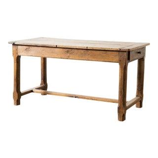 Antique Oak Worktable