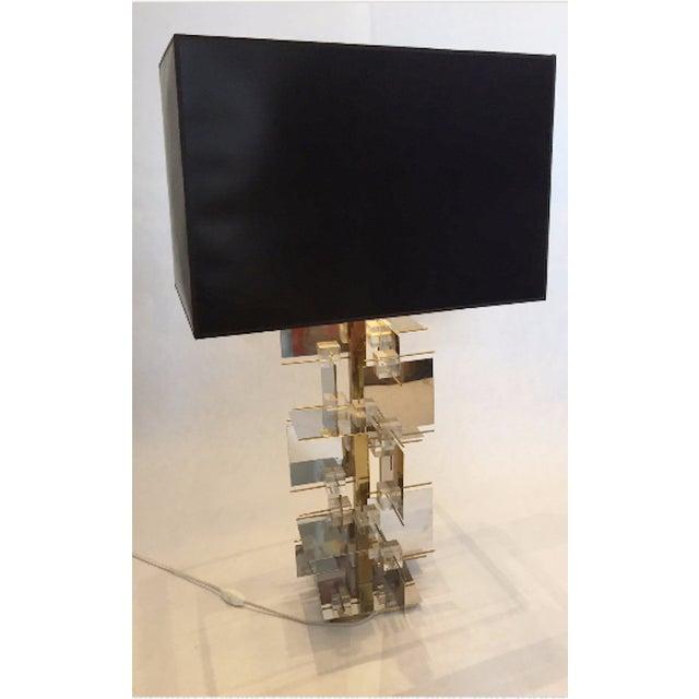 1960s Gaetano Sciolari Sculptural Table Lamp - Image 5 of 5