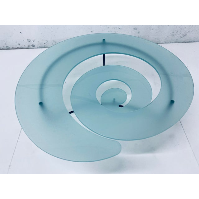 """Giorgio Cattelan """"Spiral"""" Coffee Table for Cattelan Italia For Sale In Miami - Image 6 of 13"""