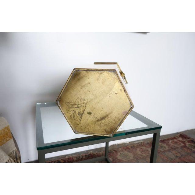 Metal Vintage Brass Umbrella Stand For Sale - Image 7 of 8