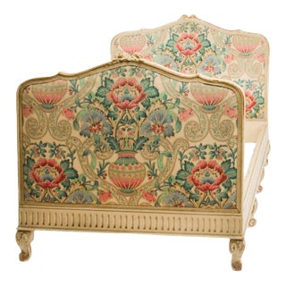 1920s French Louis XV Painted Daybed For Sale