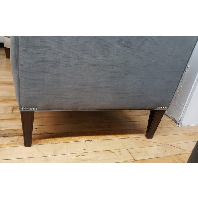 Contemporary Wesley Hall Tufted Club Chair For Sale In New York - Image 6 of 10