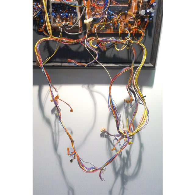 Mid 20th Century Mid 20th Century Component Art Circuit Wall Sculpture. Bill Reiter. For Sale - Image 5 of 11