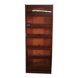 Globe Wernicke Quartersawn Oak Bookcase For Sale