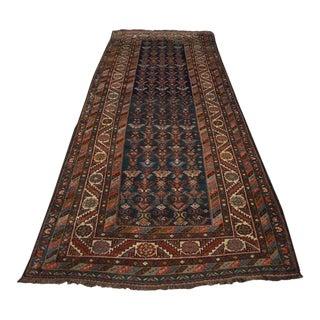 Antique Persian Malayer Rug - 3′10″ × 10′2″