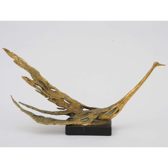Peggy Reventlow Bronze Bird Sculpture by Peggy Reventlow For Sale - Image 4 of 9