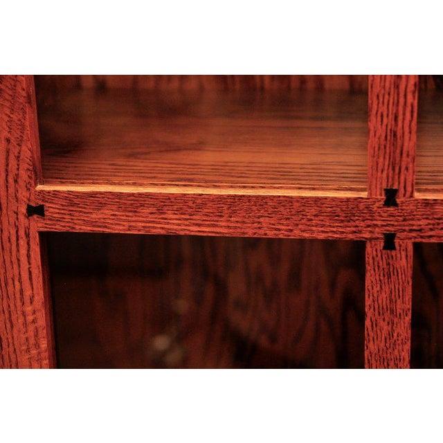 Michaels Furniture Mission Glass Door Cabinet Chairish