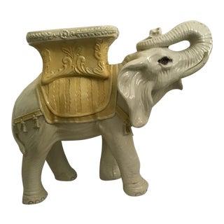 Vintage Mid-Century Italian Elephant Garden Stool