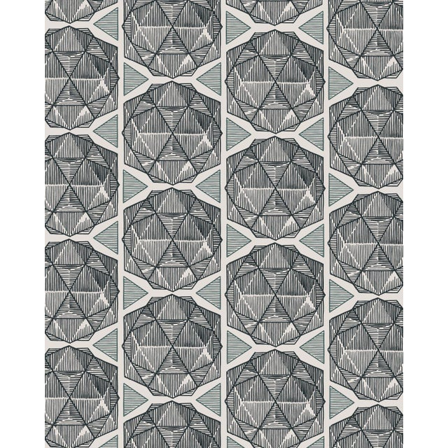 Islamic Escher Parchment Wallpaper - 1 Double Roll For Sale - Image 3 of 3