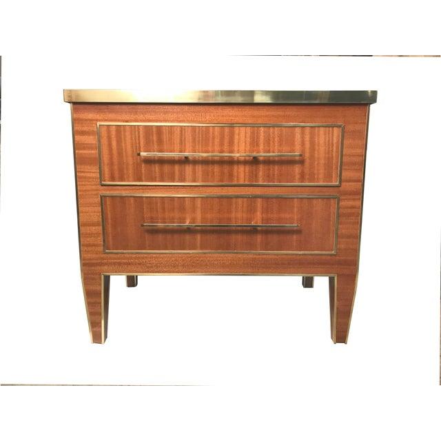 Brown MarGian Studio Edgard Nightstand For Sale - Image 8 of 9