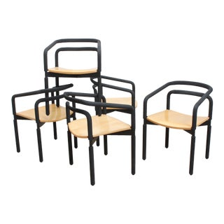 Postmodern Brian Kane Rubber Chairs- for Metropolitan Furniture For Sale