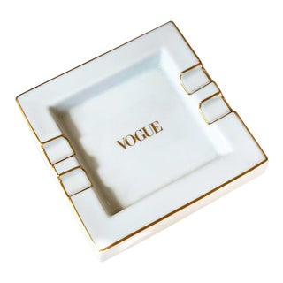 Late 20th Century Vogue Ashtray For Sale