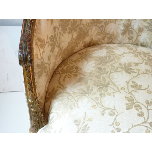 French Giltwood Bergere Chair - Image 9 of 11
