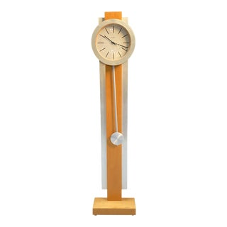 1990s Howard Miller Postmodern Grandfather Style Clock