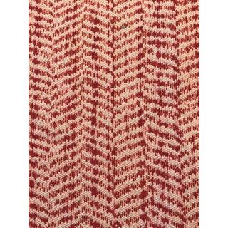 10 Yards Tilton Fenwick/Duralee Chevron Texture Fabric For Sale