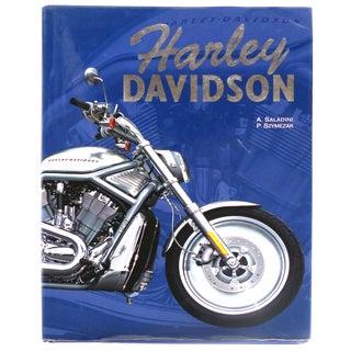 """Harley Davidson"" Book by A.Saladini & P. Szymezak For Sale"