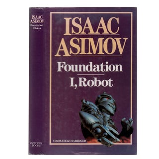 "1984 ""Foundation and I, Robot"" Collectible Book For Sale"