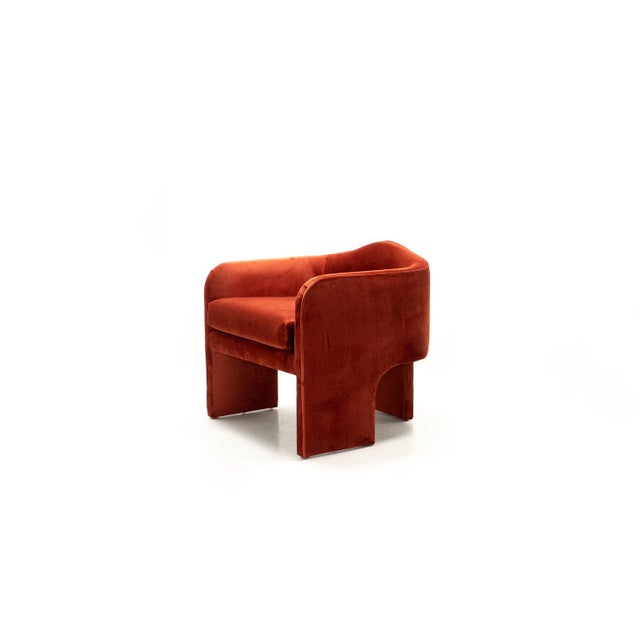 2010s Hand Crafted Art Deco Chair Style Accent Chair For Sale - Image 5 of 5