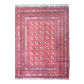 Vintage Afghani Turkoman Rug For Sale