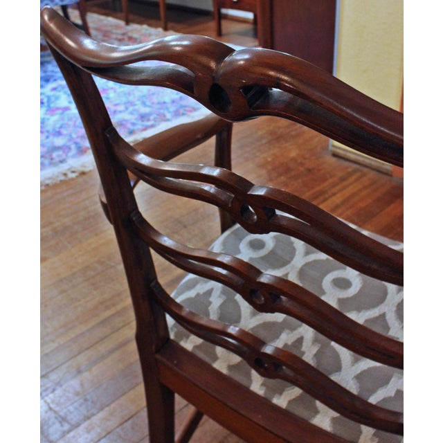 Chippendale Dining Chairs - Set of 8 For Sale In Raleigh - Image 6 of 9