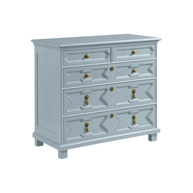Casa Cosima James Chest of Drawers, Pike's Peak Gray For Sale - Image 4 of 4