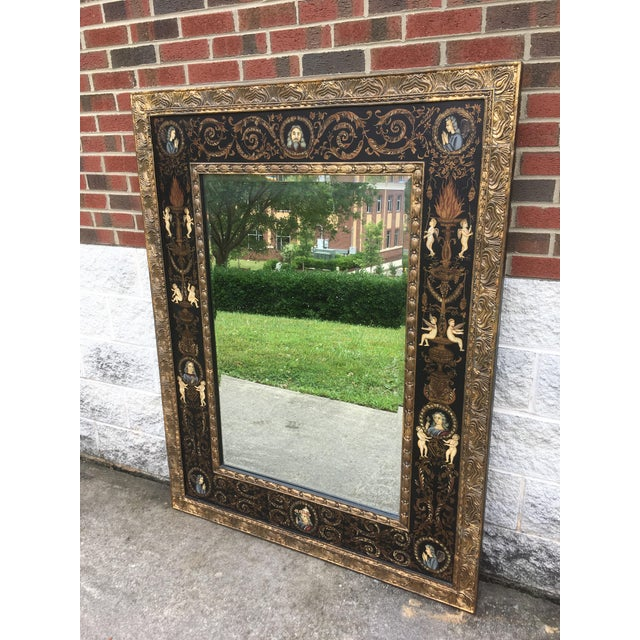 Large Classically Themed Wall Mirror - Image 5 of 5