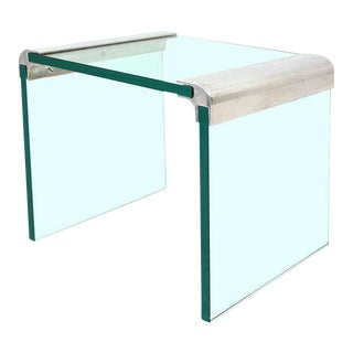 Mid-Century Modern Pace Collection Waterfall Side Table For Sale