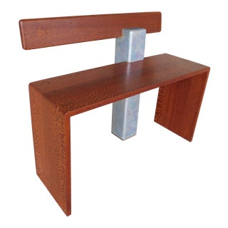 "Peter Czuk Studio Mid-Century Modern Style Bench 33""w For Sale"