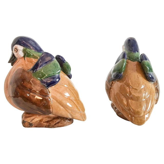 Chinese Duck Figurines - A Pair - Image 3 of 6