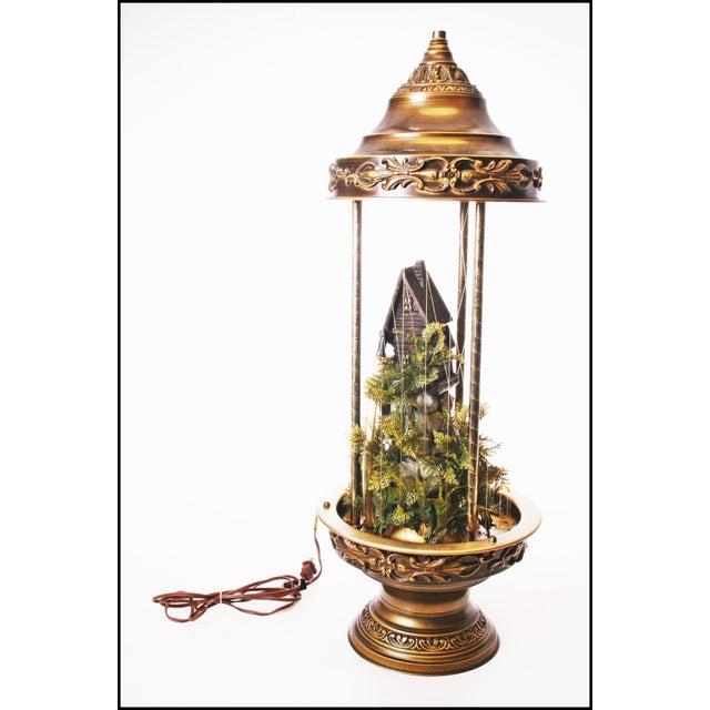 Mid Century Hollywood Regency Mineral Oil Rain Lamp - Image 5 of 11