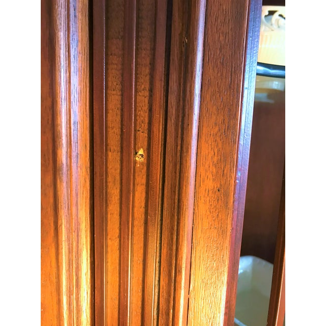 Late 20th Century Corner Cabinet With Iron Doors For Sale - Image 12 of 13