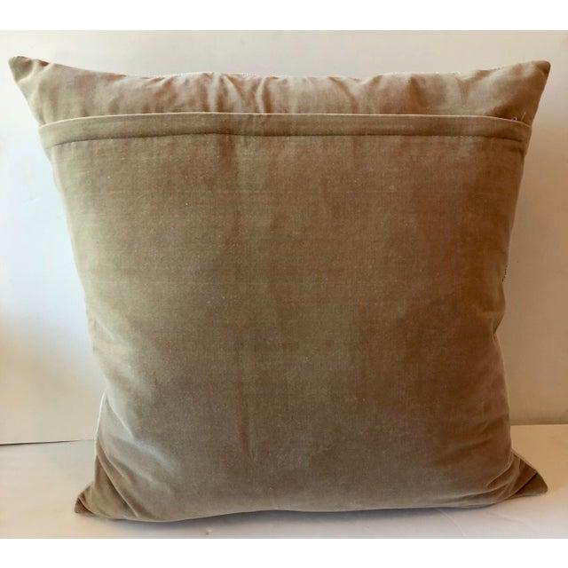 Boho Chic Citrus Oranges Needlepoint Pillow For Sale - Image 3 of 4