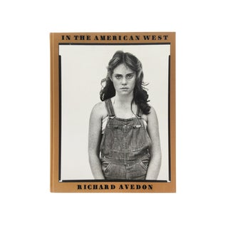 """Richard Avedon Photography Book, """"In the American West"""" For Sale"""