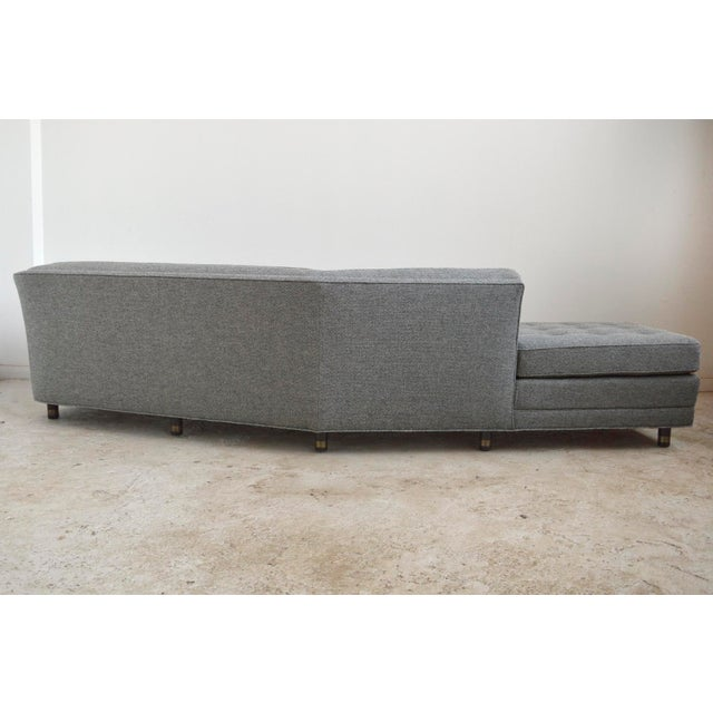 Harvery Probber Large Angled One-Arm Sofa For Sale - Image 9 of 11