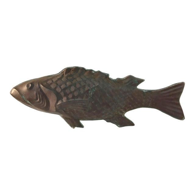 Molded Copper Codfish Weathervane - Image 1 of 9