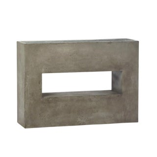 Modern Cement Hole Planter For Sale