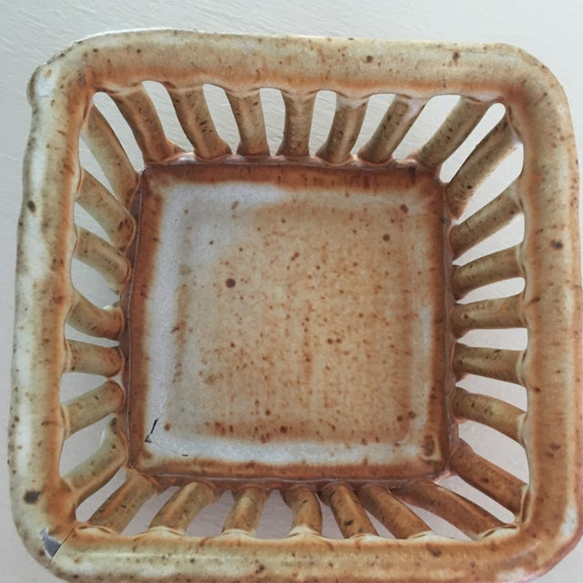 Cohen Pottery Organic Modern Basket For Sale - Image 12 of 13