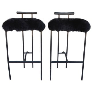 """Modernist """"Tokyo"""" Barstools by Rodney Kinsman for Bieffeplast, Italy - a Pair For Sale"""