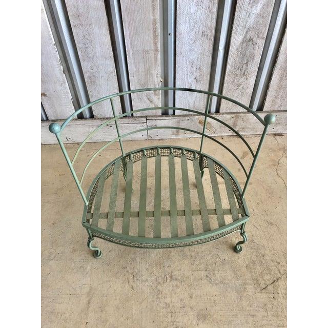 Russell Woodard Midcentury Garden Chair by Woodard For Sale - Image 4 of 6