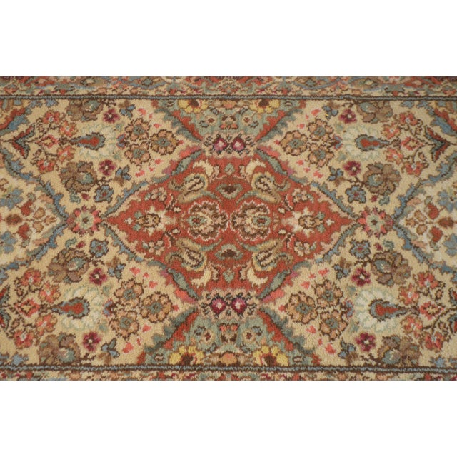 "Textile Karastan Empress Kirman 2'6"" X 8'6"" Runner Area Rug Carpet (A) For Sale - Image 7 of 12"
