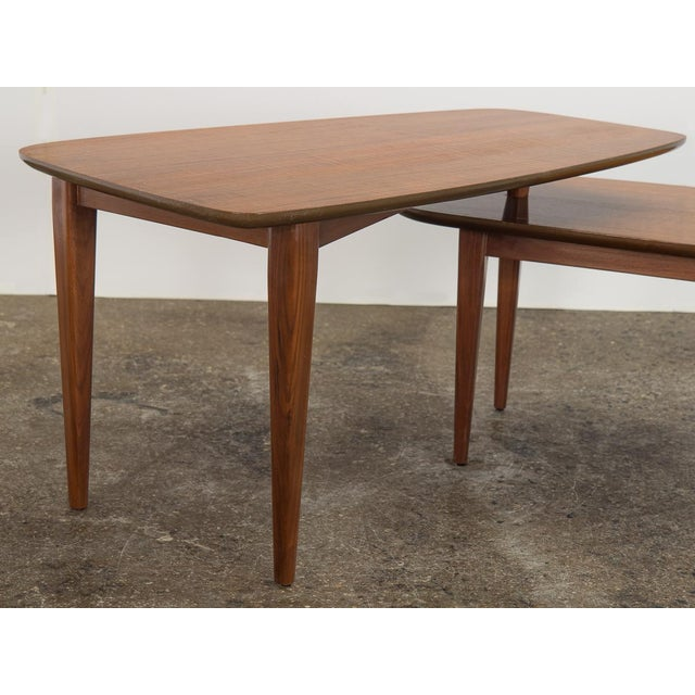 1950s Bertha Schaefer Folding Coffee Table For Sale - Image 10 of 12
