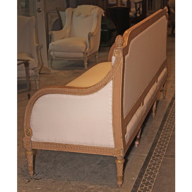 Late 19th Century 1890 Antique French Grande Settee For Sale - Image 5 of 9