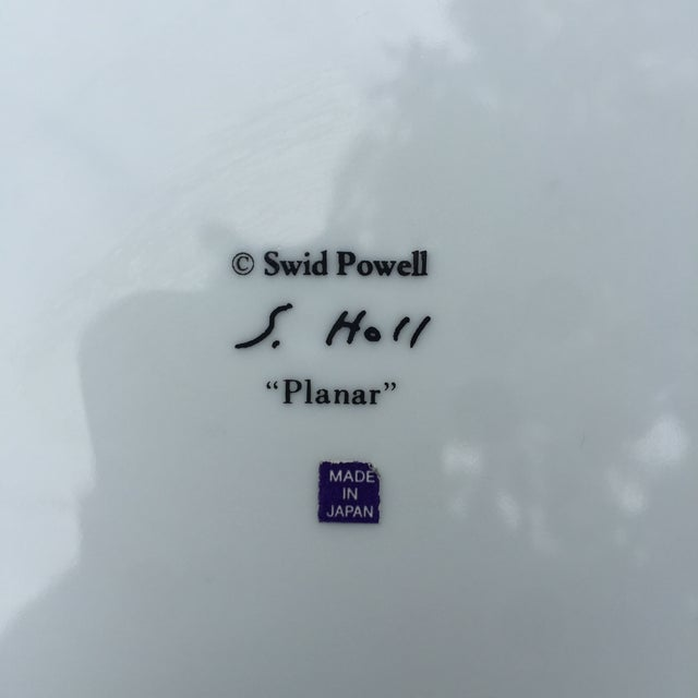 "1980s Vintage Swid Powell 'Planar"" Plates - S/8 - Image 5 of 6"